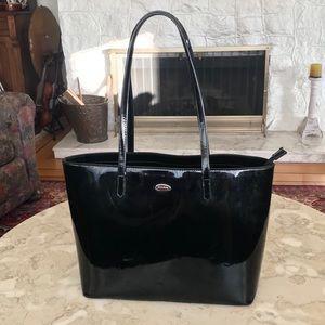 David Jones Black Tote Bag